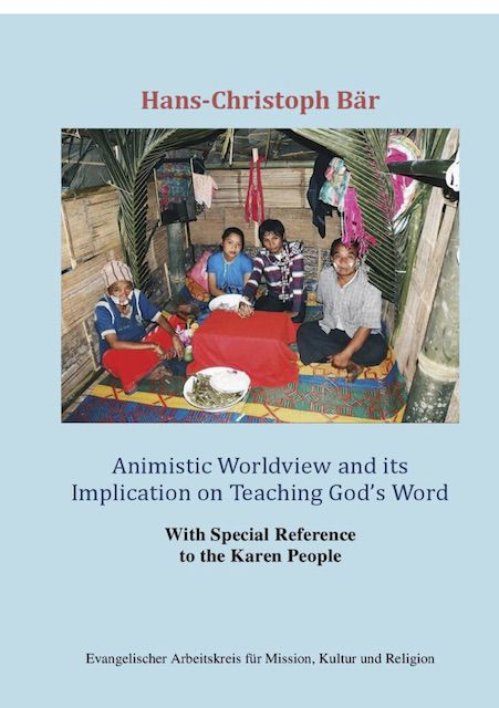 Cover Animistic Worldview and its Implication on Teaching God's Word
